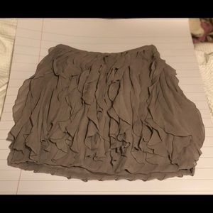 Club Monaco gray skirt